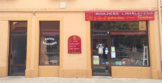 """Boucherie """"Les 2 épicuriens"""""""